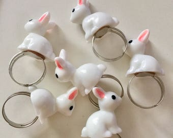 Mini Bunny Ring