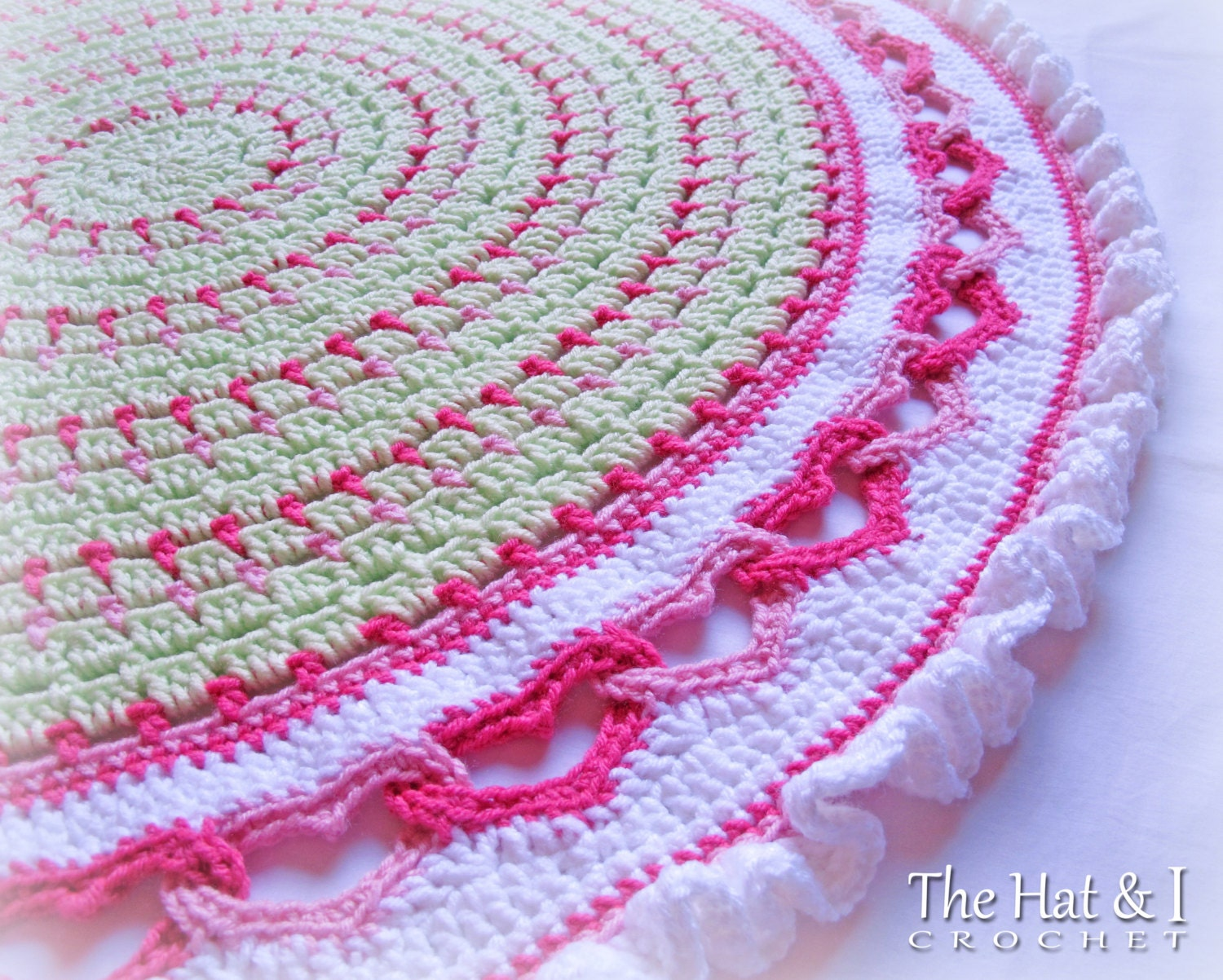 Crochet Blanket PATTERN - Baby Love - crochet pattern for baby ...