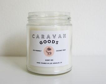 SCENT 003: JALAMA //  Coconut Wax Candle // Organic // Eco Friendly // 8oz