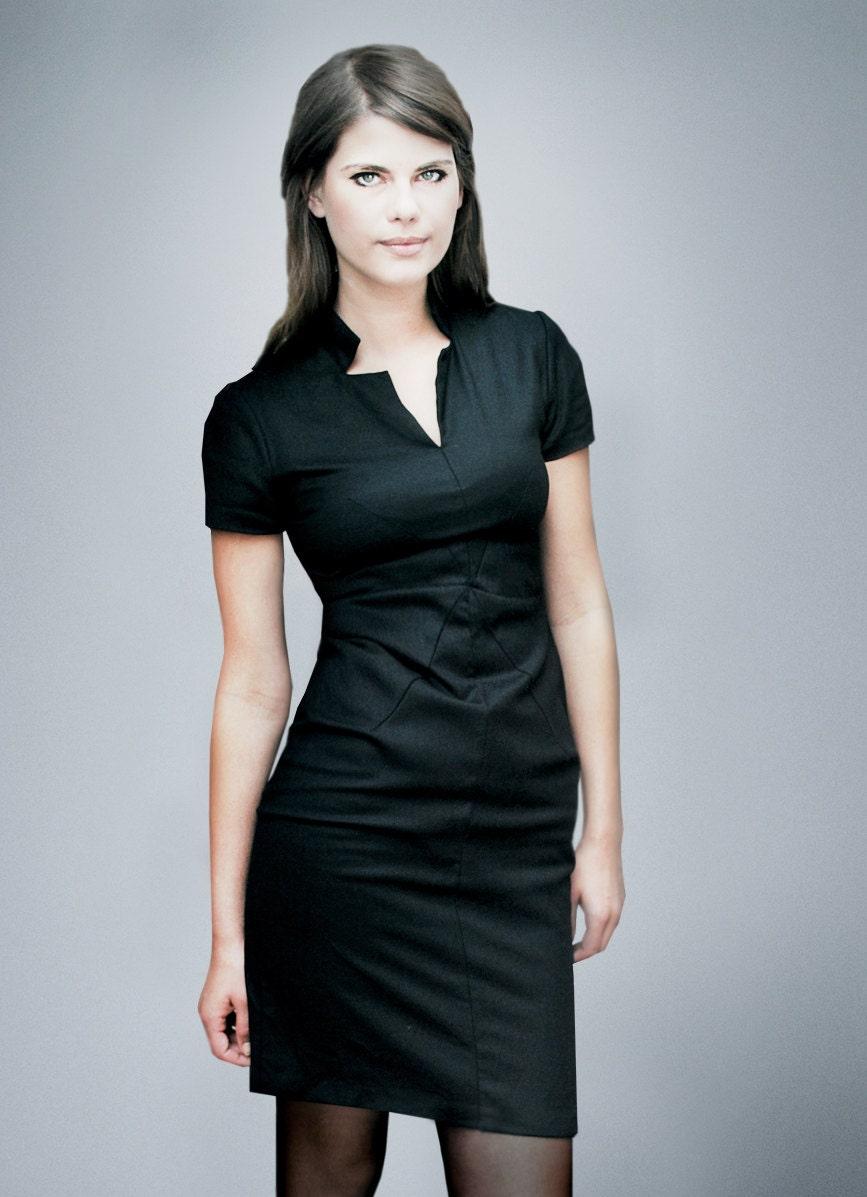 FEMKIT black shift dress A.L.E.X.I.S