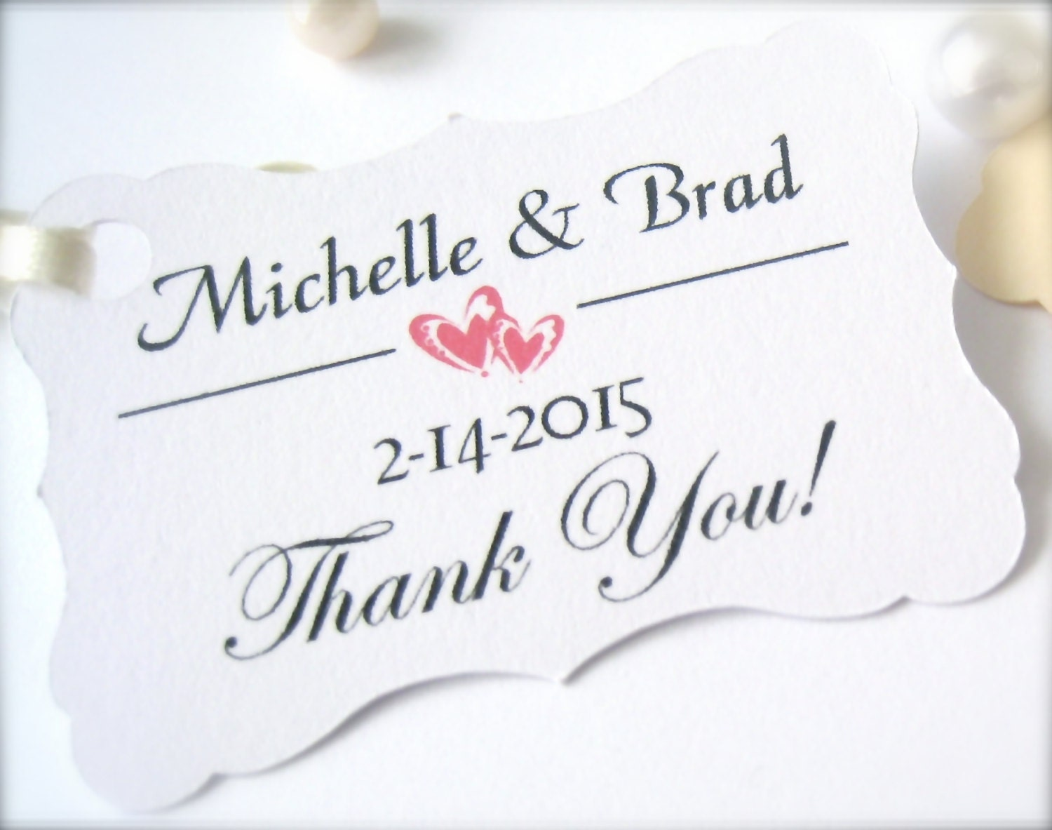 Wedding favor tags,party favor tags, customized tags, wedding decor ...