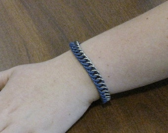Stainless Steel Stretch Chainmaille Bracelet