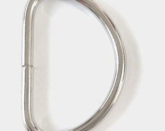 """50 D Rings - 1 1/2"""""""