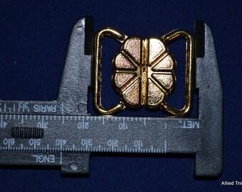 20mm 24k Gold Front Closure - 10 sets