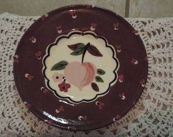 Vintage Plate Cleminsons of California Wall Hanging Cottage Chic