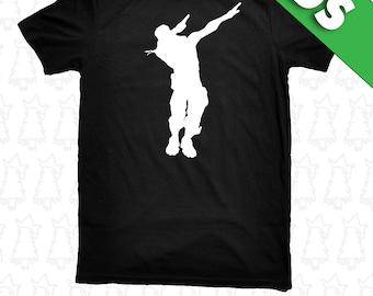 Fortnite Dab Dabbing Emote Fort Night KIDS YOUTH Sizes T Shirt