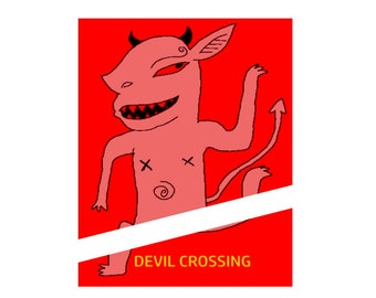 Devil Crossing (GlossyPrint 8x10)