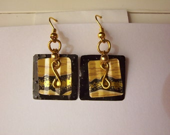 java greenwear earrings