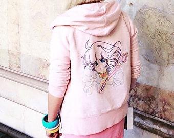 "hoodie women ""Creamy"""