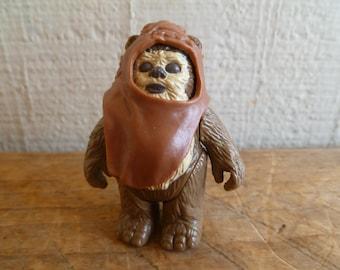 "1984  Star Wars ""Wicket Ewok "" with Original Hood  Action Figure"