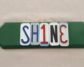 Shine - License Plate Art