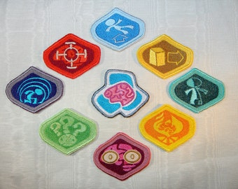 Psychonauts Merit Retro Steam Gaming Badge Patch