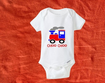 Choo train Bodysuit. Toy train. Train bodysuit. Baby gift. Baby bodysuit. Baby clothes. Baby shower gift. Newborn outfit. Take home outfit