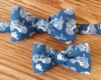 Father/Son Tractor Bow Tie
