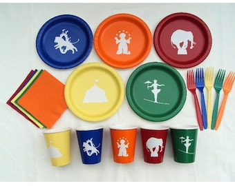 Circus Tableware Set for 5 People