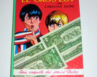 Vintage (1966) French Children's Book - Le Gros Lot par Cariline Quine
