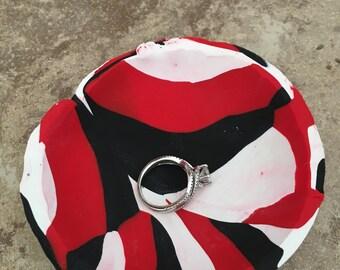 Red & Black ring dish