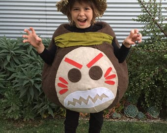 Kakamora Costume (Moana Pirate Coconut)