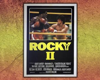 Original Movie Posters Rocky II - 100X140 CM - Sylvester Stallone