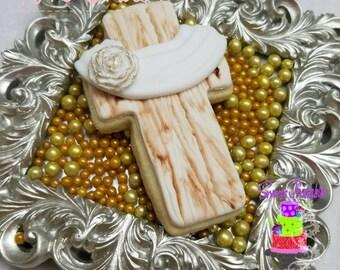 """Cross Sugar Cookie 2"""""""