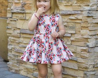 Wonderland Girls Alice Dress~Alice in Wonderland~Retro Style~Alice Birthday Dress~Disney Outfit~Girls Matching Outfits~Size 12/18 month - 10