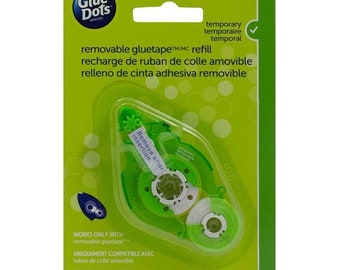 """Fathers Day Sale Event: Glue Dots Tape Refill Removable 1/3"""" x 52' For 40601 Runner"""