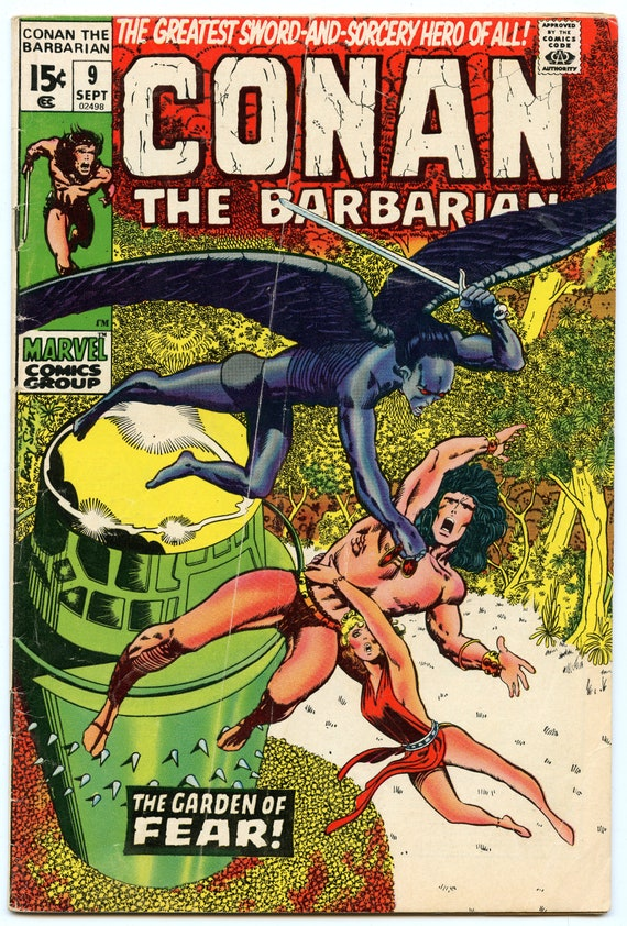 Conan the Barbarian 9 Sep 1971 VG- (3.5)