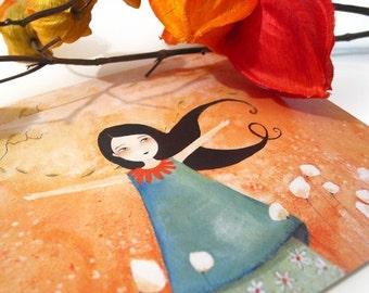 Princesse Mandarine - Postcard