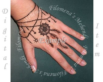 Mehndi Like Tattoo : Easy mehndi designs for kids adoring the hands of princesses