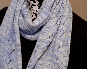 PDF Knitting Pattern - Lily of the Valley Scarf