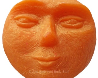 Man in the Moon Handcrafted Novelty Soap Bar by Just Bath And Body Stuff / JBABS