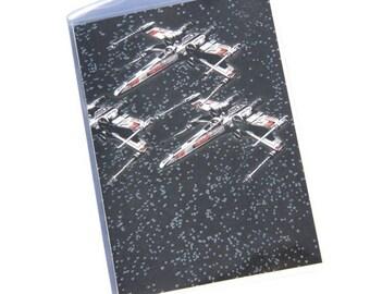 PASSPORT COVER - Star Wars X-Wing Star Fighters. Passport Holder, Passport Case, Travel Gift Idea, Travel Lover, Graduation Gift, Wanderlust