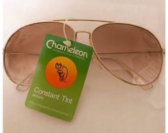 Vintage NOS Aviator Sunglasses, Bintage Aviators, Vintage Sunglasses, Deadstock Aviators