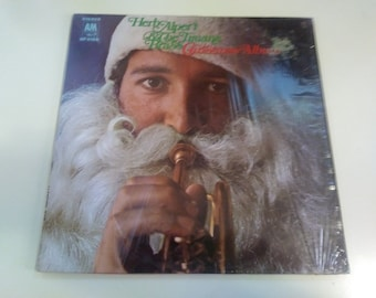 Herb Alpert and The Tijuana Brass - Christmas Album VG+ Original Press A&M SP-4166 Record 1968 in shrink - Play Tested Latin Pop jazz