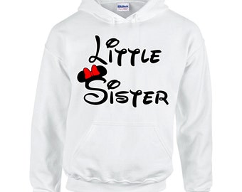 Minnie Little Sister Women's Fashion Hoodie