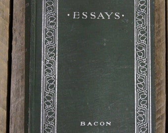 Essays - Lord Bacon