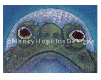 "Print ""Warty Frog"""