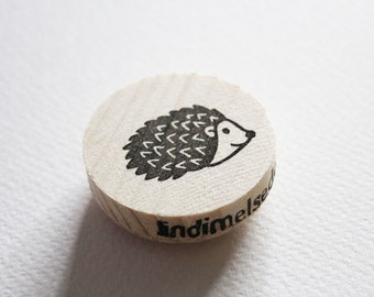 Hedgehog stamp
