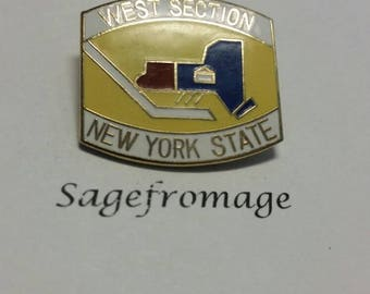 West Section New York State pin