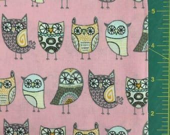 Hoot Owls on Pink