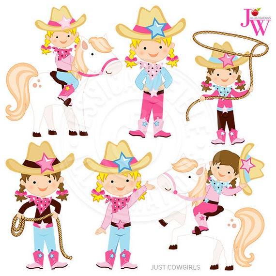 just cowgirls digital clipart cowgirl graphics cowgirl clip rh etsy com cowgirl clipart free cowgirl clipart public domain