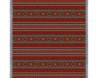 Saddleblanket Red Blanket