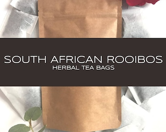 Rooibos (Red Bush) Herbal Tea Bags