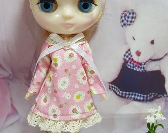 219 # Middie Pink Blossom A Dress
