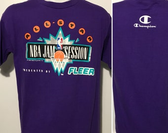 Vintage 1993 NBA All Star Jam Session Tee L by Champion