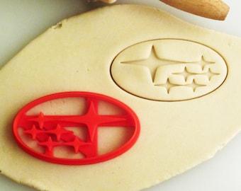 Subaru Emblem Badge Logo Cookie Cutter