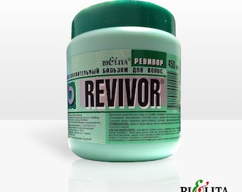 "Restorative balm for hair ""REVIVOR"" • Hair balm • Hair conditioner • Hair moisturizer • Hair cream • Natural conditioner • Hair treatment"