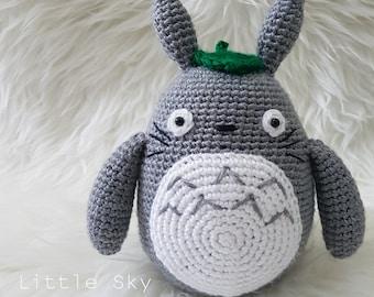 Amigurumi Totoro : Totoro amigurumi snowman pattern pdf christmas studio