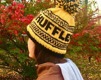 Harry Potter Hufflepuff Knit Hat