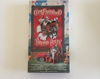 Bronco Billy (VHS, 1995) Clint Eastwood